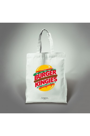 tote bag burger kingies