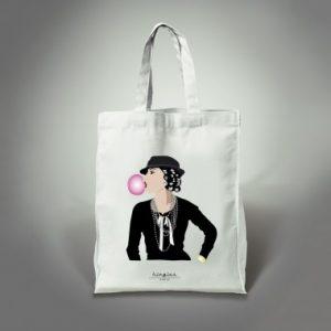 tote bag coco bulle kingies