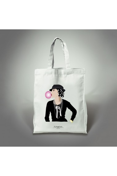 tote bag coco bulle kingies