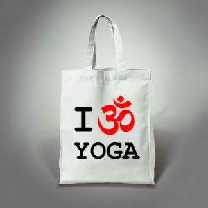 tote bag yoga kingies