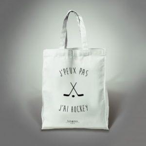 tote bag j'ai hockey kingies