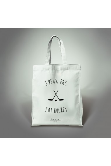 tote bag j'ai hockey kingies