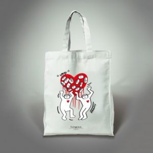 tote bag love kingies