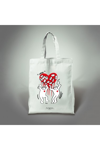 tote bag love kingies
